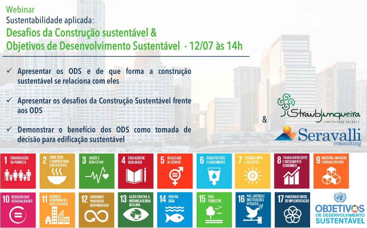 Webinar – Sustentabilidade Aplicada: Desafios da Construção Sustentável & Objetivos de Desenvolvimento Sustentável